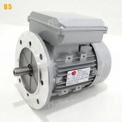 Moteur electrique 0,37 kW 1500 tr/min 220V monophasé ALMO MMD - Bride B5