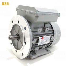 Moteur electrique 1,5 kW 1500 tr/min 220V monophasé ALMO MMD - Bride B35
