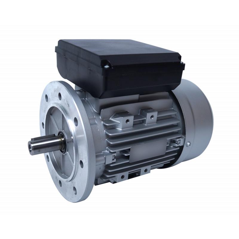 Moteur electrique 0,12 kW 1500 tr/min 220V monophasé ALMO MMP - Bride B5