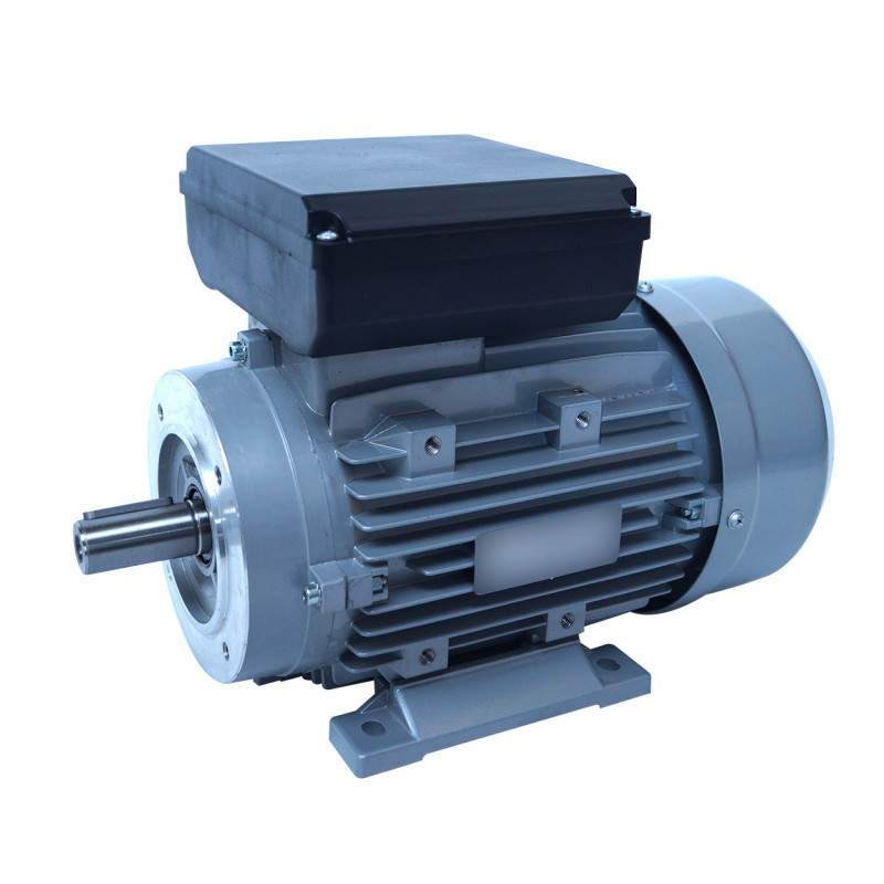 Moteur electrique 0,37 kW 1500 tr/min 220V monophasé ALMO MMP - Bride B34