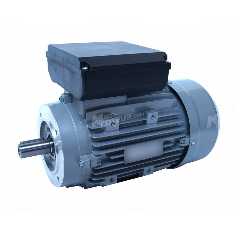 Moteur electrique 1,1 kW 1500 tr/min 220V monophasé ALMO MMP - Bride B14