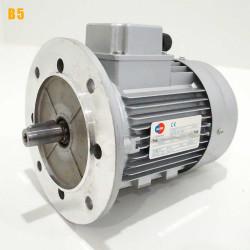 Moteur electrique 0,75 kW 3000 tr/min 230/400V triphasé ALMO MH1 carcasse réduite - Bride B5