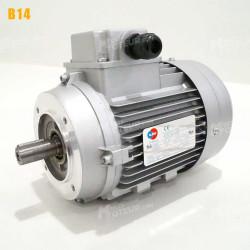 Moteur electrique 7,5 kW 3000 tr/min 230/400V triphasé ALMO MH1 carcasse réduite - Bride B14