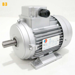Moteur electrique 7,5 kW 1000 tr/min 230/400V triphasé ALMO MH3 - Bride B3