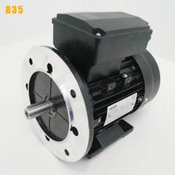 Moteur electrique 0,09 kW 3000 tr/min 220V monophasé CEMER MY - Bride B35