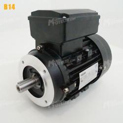 Moteur electrique 0,09 kW 3000 tr/min 220V monophasé CEMER MY - Bride B14