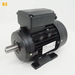 Moteur electrique 0,55 kW 3000 tr/min 220V monophasé CEMER MY - Bride B3