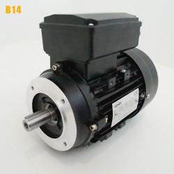 Moteur electrique 0,75 kW 3000 tr/min 220V monophasé CEMER MY - Bride B14