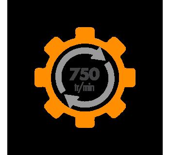 Moteur electrique ALMO 230/400V Fonte - IE3 750 tr/min