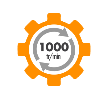 Moteur electrique CEMER 230/400V Aluminium - IE1 1000 tr/min
