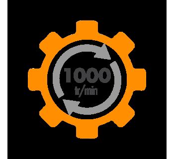 Moteur electrique ALMO à condensateur permanent 1000 tr/min
