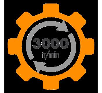 Moteur electrique ALMO à condensateur permanent 3000 tr/min